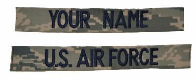 2 Piece Custom Name Tape Set - SEW-ON - ABU
