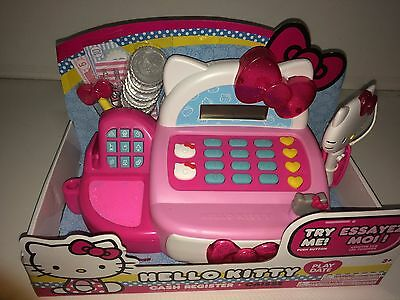 Hello Kitty Cash Register New In Box 3+ Pink & White