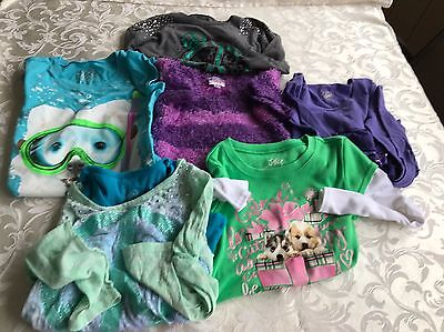 Lot Of 6 Girls 6/7 Justice Clothes