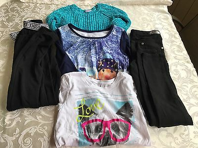 Lot Of 5 Girls Size 10 Justice Clothes
