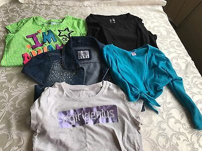 Lot Of 5 Girls 12-14 Justice Clothes