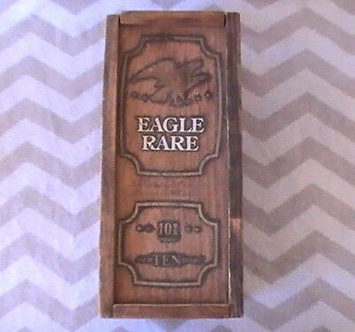 Old Eagle Rare Kentucky Straight Bourbon Whiskey Wooden Box Only!