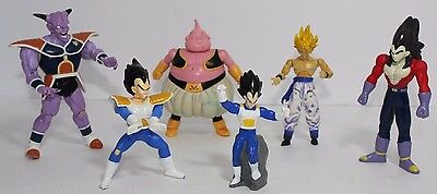 Lot 6 Dragonball Z Dragon Ball DBZ Action Figures Anime Gogeta, Vegeta