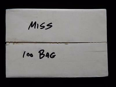 2002-D Mississippi State Quarter 100-Coin US Mint Bag BU in Sealed Box (QH4)
