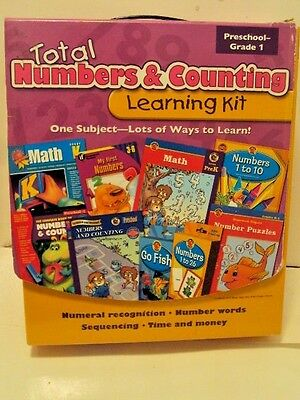 Total Numbers and Counting Learning Kits (Total Learning Kits) Preschool - Grade