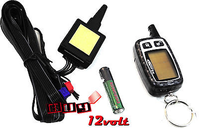 Scytek T5-2W-KIT 5-Button 2-Way LCD Remote w/ Antenna for Select Astra & Galaxy