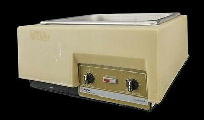 Allied Fisher 137 12x11x6 15L Variable Heated Lab Analog Water Bath 15-458-112