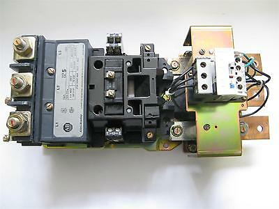 Allen-Bradley 509-FO* Size 5 Starter 270A, with 592-A2NF overload relay