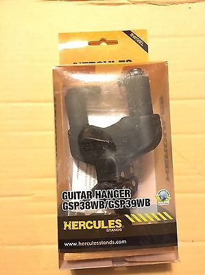 Hercules GSP38WB electric guitar wall hanger - nitro safe* - new!
