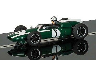 Scalextric 1:32 Scale C3658A Legends Cooper Climax Jack Brabham Car *new* (Wh)