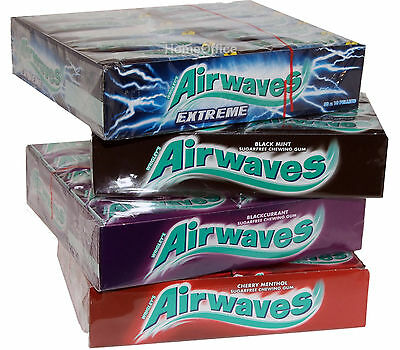 Wrigley's Airwaves Chewing Gum Choose Your Flavour