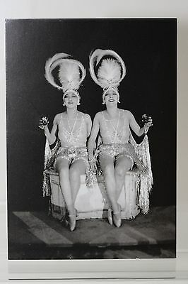 THE DOLLY SISTERS,1923,  Kunst-Postkarte