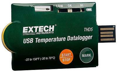 Extech Instruments - THD5 - Usb Temperature Dataloggers - Pack Of 10