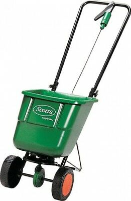 Lawn Sowing Machine Feed Fertilizer Grass Seed Rotary Spreader Positioned Hopper