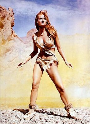 1960s RAQUEL WELCH One Hundred Million Years BC replica movie poster magnet new!