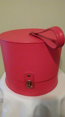 Mid Century Everbest Travel Hat/wig Box