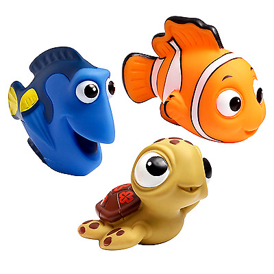 The First Years Disney Baby Bath Squirt Toys, Finding Nemo, Brand New, Free Ship