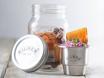 Kilner Snack and Lunch On The Go Jar - 0.5 Litre Capacity