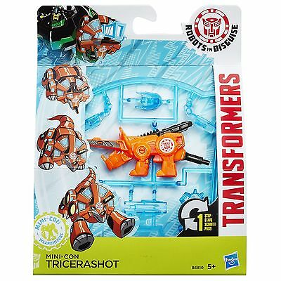 Transformers Robots in Disguise Mini-Con Weaponizers TRICERASHOT Figure (B6810)