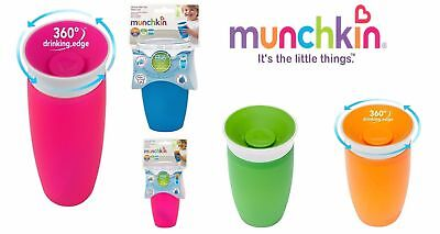Munchkin No Spill Cup Miracle: 296 ml 360 Degrees Drinking Baby Infant