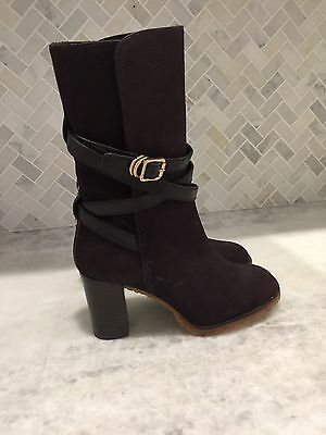 New Tory Burch Suede Brown Boots. Size 7. $495