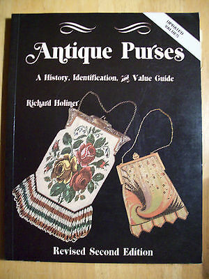 Vintage Purse Handbag Price Guide Collector's Book Coin Pouch Mesh Hardback
