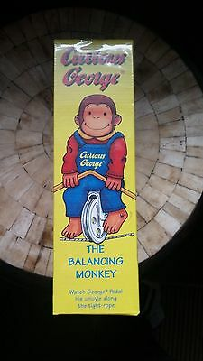 Curious George The Balancing Monkey - Sealed ,new  !!!