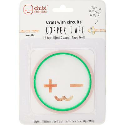 Chibitronics 16 Feet of Copper Tape - Add Lights To Your Paper Crafts