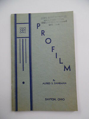 1930s PROFILM CORP Silk Screen Coloring Printing Process Catalog Manual Vintage