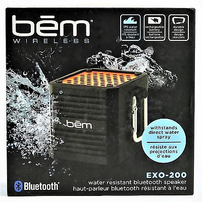 New Bem EXO 200 Water Resistant Bluetooth Speaker Cube