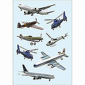 Decor-Sticker Flugzeuge 3442      Herma