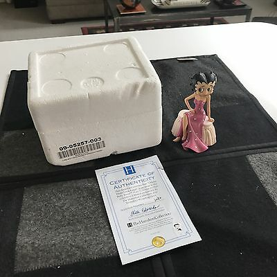 "SUPERB 4 1/2"" BETTY BOOP FIGURINE I Make Hope Look Good MINT IN BOX w/COA"