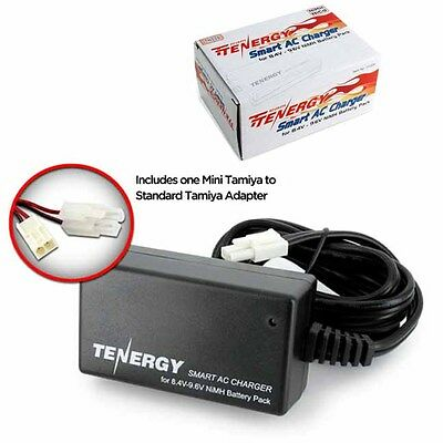 Tenergy 01026 Smart AC Charger for 8.4V-9.6V NiMH Airsoft & RC Battery Packs