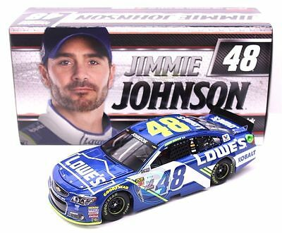 Jimmie Johnson #48 Lowe's 2017 1/24 Scale NASCAR Diecast