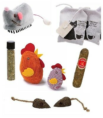Petlinks System Catnip (5) FIVE Cat Toys LOT GREAT SELECTION OF TOYS GIFT
