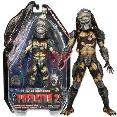 NECA Boar Predator Masked Hunter 7 inch Action Figure Collection Series 4 New