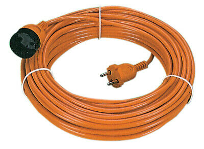 Fme Extension Cord Current Electric 25 Mtl with Plug Socket Schuko Section 2x1,