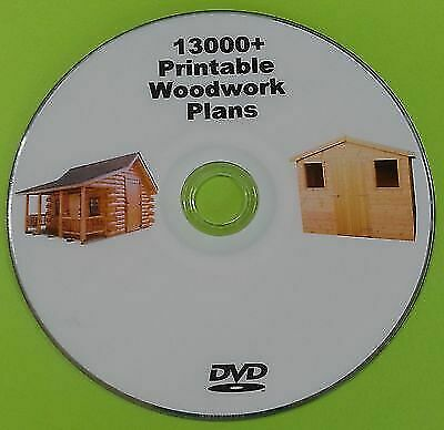 Woodwork Plans Massive Collection On DVD - Shed Barn Log Cabin Toys Gate Plans