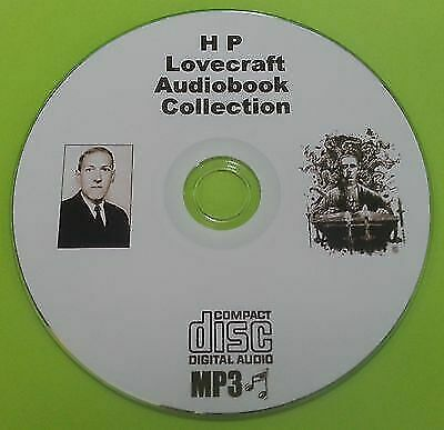 HP Lovecraft MP3 Audio Book Collection On CD