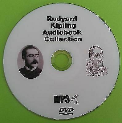 Rudyard Kipling Audio Book Collection MP3 DVD Jungle Book, Just So Stories