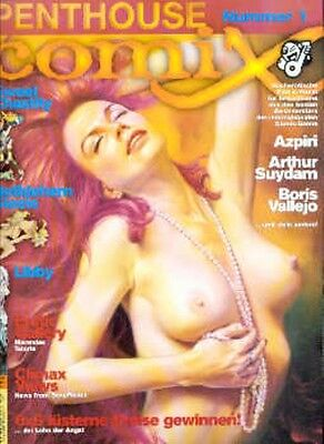 4 Penthouse Comix Nr. 1 - 4 SC in Topzustand !!!