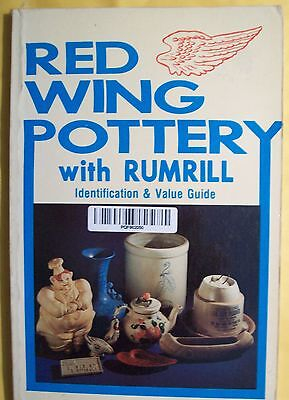 Antique Rumrill Red Wing Pottery Stoneware $$ Price Value Guide Collector's Book