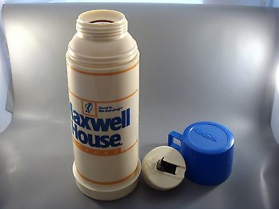 Vintage 1960's MAXWELL HOUSE Advertising Hot Beverage/Soup THERMOS Complete!!