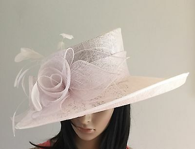Nigel Rayment White Wedding Ascot Hat  Mother Of The Bride