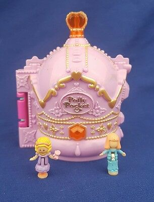 Polly Pocket Crown Palace Bluebird Toys Crown Castle Vintage 2   Figures 1996