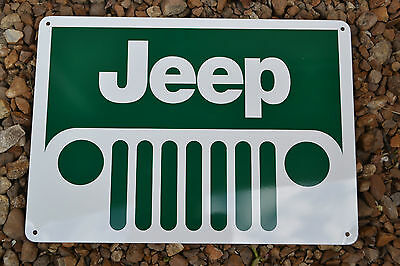 Jeep Rubicon Wrangler Willys 4x4 Garage Sign