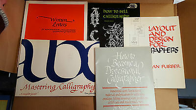 Lot of 5 Calligraphy Books