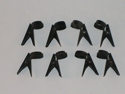 Noma Aligator Clips C6 Christmas Bubble Light Clips Tested Working 1940's