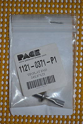 """NEW Pace Flat End Solder Tip .240"""" x .074"""" P/N 1121-0371-P1 For TJ-70 ThermoJet"""