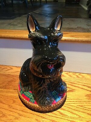 David's Cookie Jeffrey Banks Scottish Terrier, Scottie Dog Scotty Cookie Jar